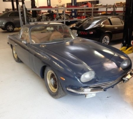 Lamborghini 350 GT restoration project