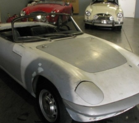 Lotus Elan S2, restoration's project