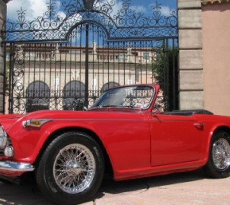 Triumph TR4 A IRS Roadster