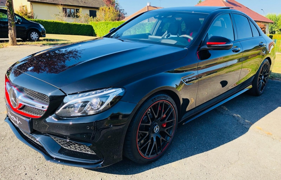 Mercedes Benz Clase c 63 AMG S Edition 1